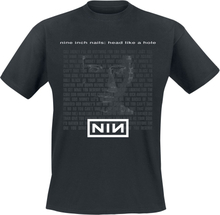 Nine Inch Nails - Head Like A Hole -T-skjorte - svart