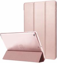 INF iPad 9.7 2017 Smart Cover Case med hardplast deksel - Rosegull