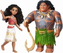 Disney Vaiana 2-Pack /Moana Maui The Demigod Docka/Figur