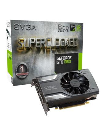 GeForce GTX 1060 SC GAMING ACX 2.0 - 6GB GDDR5 RAM - Grafikkort