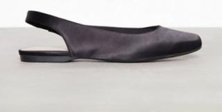 Bianco Back Strap Flat Shoe Sandaler