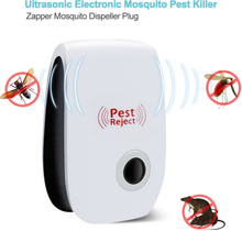 Electronic Mosquito Killer Lamp Ultrasonic Anti Mosquito Insect Killer Repeller Rat Mouse Cockroach Pest Reject Repellent