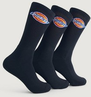 Dickies 3-Pk Dickies Sport Socks Big Logo Svart