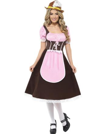 Krojente med Lang Kjole - Oktoberfest Kostyme