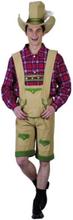 Tyrolerset - Oktoberfest Kostyme Til Mann
