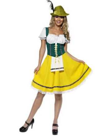 Oktoberfest Fraulein Kostyme
