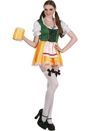Fräulein Oktober Fest Kostyme