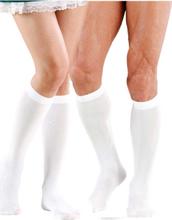 Hvite Knestrømper til Han/Henne