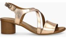 Sandały złote Layla