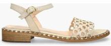 Sandały złote Selena