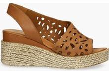 Sandały brązowe Nadia
