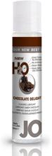 System Jo H2O Lubricant Chocolate - 30 ml Vattenbaserat Glidmedel