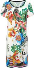 Kleid Rundhals-Ausschnitt Ringella mehrfarbig