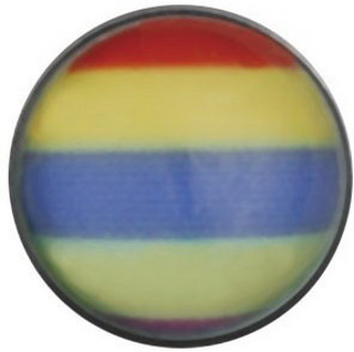 Rainbow - Dermal Anchor 4 mm Kule med 1,2 mm gjenger