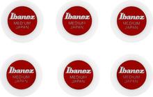 Ibanez PPA1M-WH Round Shape Pick Set