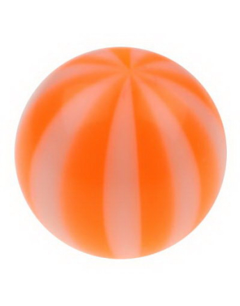 Badboll - Orange Akrylkula