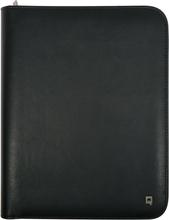 DESQ Konferensmapp A5 med anteckningsblock och tabletställ svart