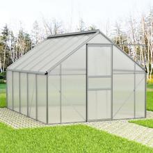 vidaXL Växthus aluminium 15,1 m³