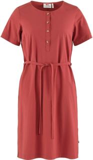 Fjällräven Övik Lite Dress Dame kjoler Rød L