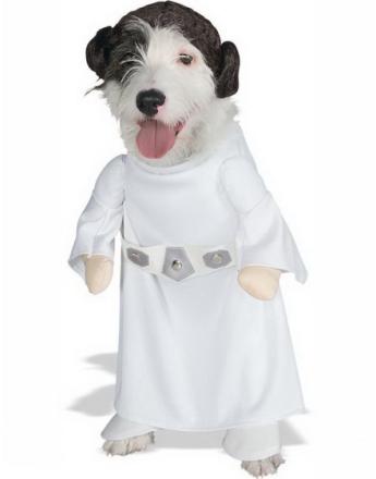 Star Wars - Princess Leia Hundekostyme