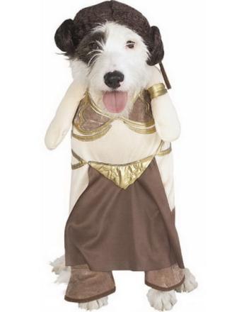 Star Wars - Princess Leia Slave Hundkostym