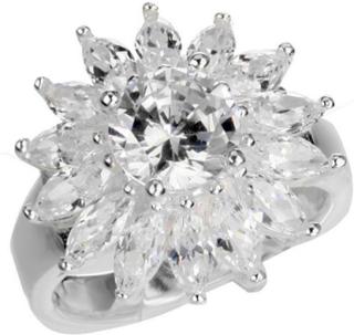 Big Flower - Ring i Ekte Sølv 925s
