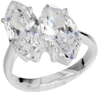 Dual Drops - Ring i Ekte Sølv 925s