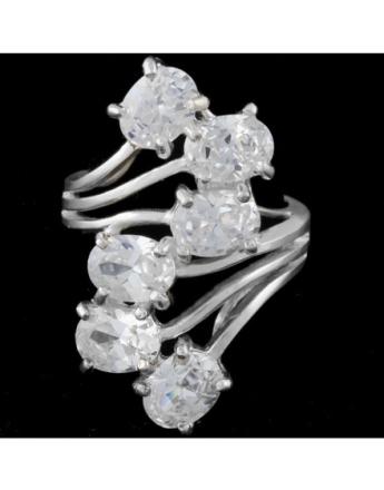 Diamond Are A Girl Best Friend - Ring i Ekte Sølv 925s