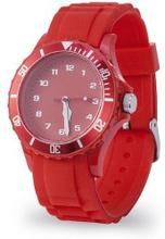 Analogt armbandsur Röd