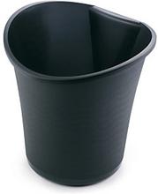 Papierkorb, 15 l, schwarz