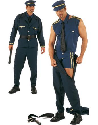 Strip Time Policeman - Striptease Luksuskostyme