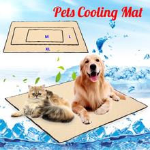Ungiftige kühle Gel-Auflage-Haustier-abkühlende Matte, die Haustier-Bett für Sommer-Hundekatzen-Welpen abkühlt