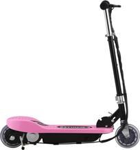 vidaXL Elektrisk sparkesykkel 120 W rosa