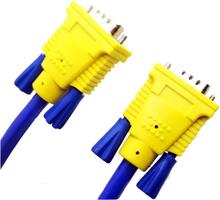 Universiell 25m VGA hankontakt till VGA hankontakt kabel.