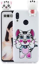 Huawei P Smart 2019 Søt 3d-Figur Etui Med Mønster - Tiger