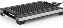 Tristar Stekplatta och elektrisk grill 2000 W 37x25 cm svart