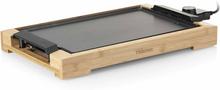 Tristar Elektrisk stekplatta 2000 W 37x25 cm bambu