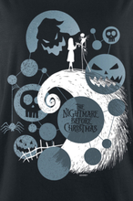 The Nightmare Before Christmas - Scary -T-skjorte - svart