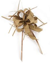 Geschenkband-Schleifen, matt braun