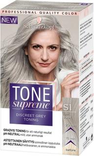 Kjøp Schwarzkopf Tone Supreme Light Silver, Light Silver Schwarzkopf Toning Fri frakt