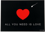 All You Need Is Love - Kort