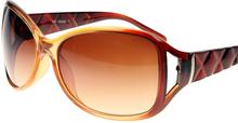 Splitted Color - Bruna Solglasögon Jämförbara med Prada