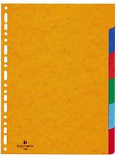 Register Standard Karton 6 Blätter