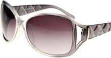 Splitted Color - Svarta Solglasögon Jämförbara med Prada
