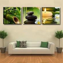 3PCS Unframed moderne Anstrich-Segeltuch-Wand-Kunst-Abbildungs-Wohnzimmer-Ausgangsdekor