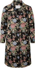 JUNAROSE Flowered Jacket Women Black