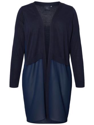 JUNAROSE Knitted Cardigan Women Blue
