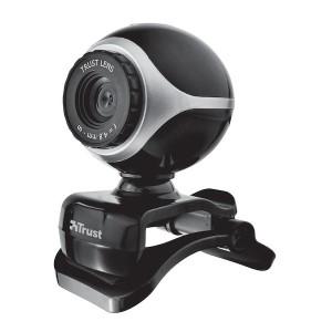 Trust Exis webkamera Svart