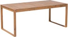 Puutarhapöytä puinen 180x90 cm SASSARI
