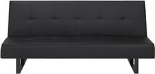 Sohva vuodesohva musta 189 cm DERBY